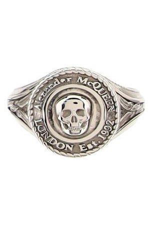 Alexander McQueen MEN'S 669950J160Y0446 OTHER MATERIALS RING