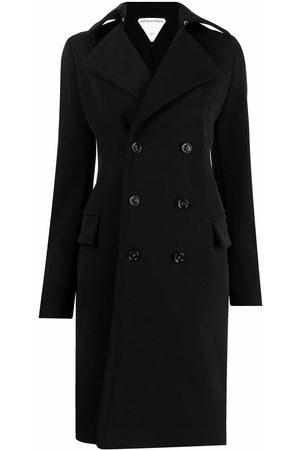 Bottega Veneta WOMEN'S 666186V0IV01000 WOOL TRENCH COAT