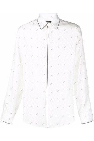 Fendi Men Shirts - MEN'S FS0808AH1WF1EPN SILK SHIRT