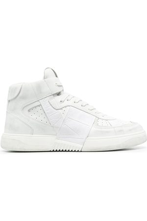 VALENTINO GARAVANI Vltn Mid Top Leather Sneakers- Man