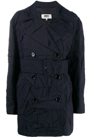Maison Margiela Women Trench Coats - WOMEN'S S32AH0067S53285002F POLYESTER TRENCH COAT