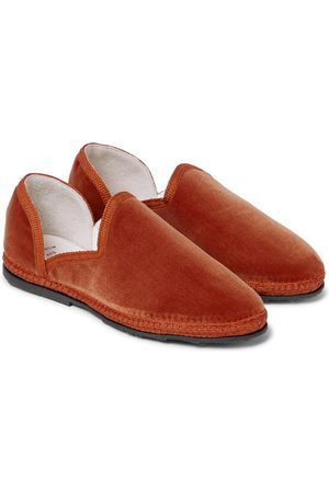 The Row Kids Loafers - Friulane velvet loafers