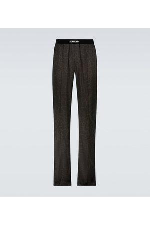 Tom Ford Silk-blend pajama pants