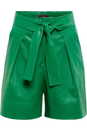 Stouls Exclusive to Mytheresa – Eloise pleated leather shorts