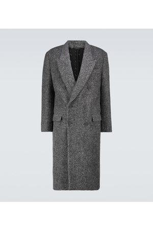 Fendi Alpaca-blend double-breasted coat