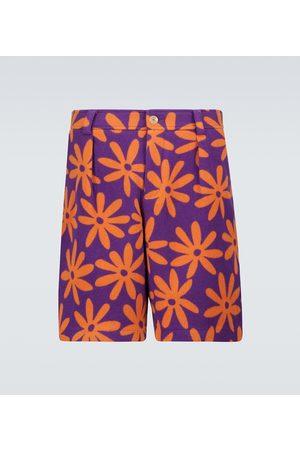 Jacquemus Le short Montagne printed shorts
