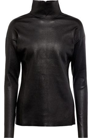 Stouls Exclusive to Mytheresa – Malcolm 22 high-neck leather top