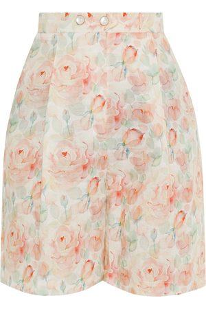 Liya Floral Print Shorts