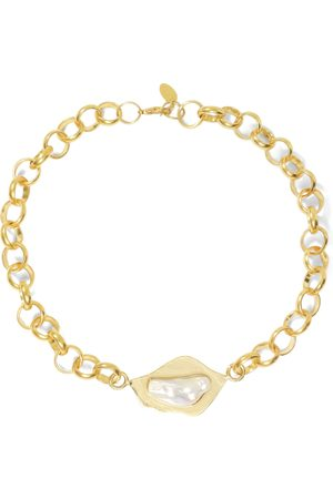Liya Women Necklaces - Pearl Chain Necklace