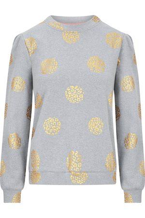 Nooki Jessica Foil Print Sweatshirt - Grey