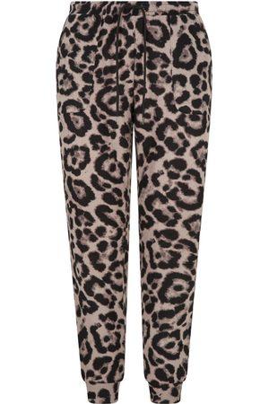 Nooki Bellingham Joggers - Mink Leopard