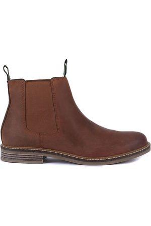 Barbour Men Chelsea Boots - Farsley Chelsea Boot Dark Tan