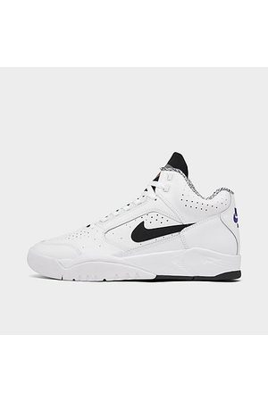 Nike Men Casual Shoes - Men's Air Flight Lite Mid Casual Shoes in / Size 7.5 Leather