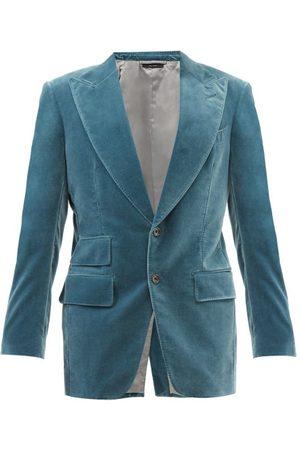 Tom Ford Men Blazers - Windsor Cotton-velvet Blazer - Mens