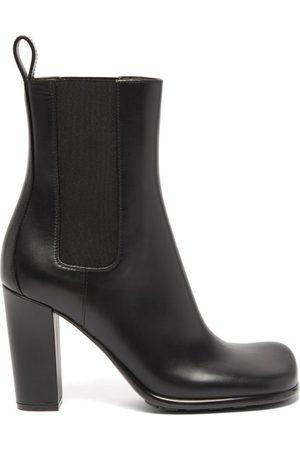 Bottega Veneta Storm Moulded-toe Leather Chelsea Boots - Womens