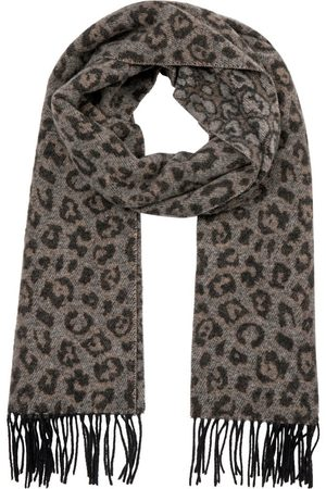 Mos Mosh Leo Wool Scarf in Ombre Blue 139620