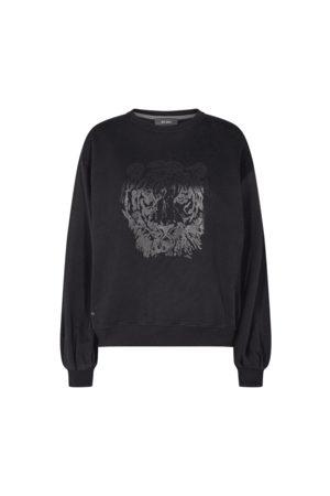 Mos Mosh Women Sweatshirts - Zanna Tiger Sweatshirt in 141190 XS
