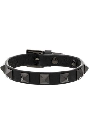 VALENTINO GARAVANI Women Bracelets - Rockstud leather bracelet