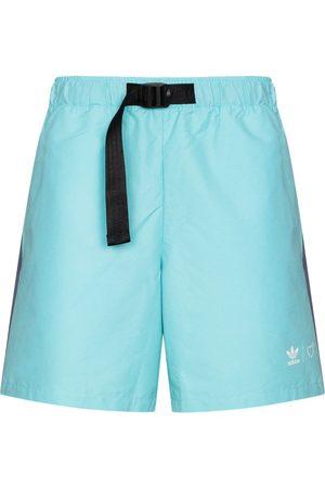 adidas Men Sports Shorts - X Human Made buckled shorts