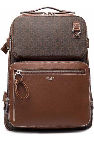 Bally Men Rucksacks - Hanford double-pocket backpack