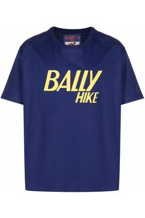 Bally Men T-shirts - Slogan-print organic cotton T-shirt