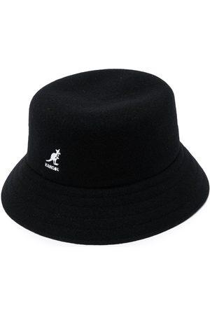 Msgm Men Hats - Logo embroidered bucket hat