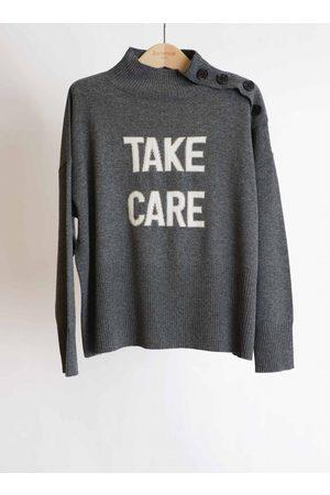 Berenice Take Care Knit Heather Grey
