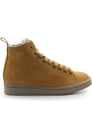 Panchic CAMEL NUBUCK ANKLE BOOT