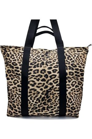 Nooki Women Purses - Venus Printed Shopper Bag - Natural Leopard