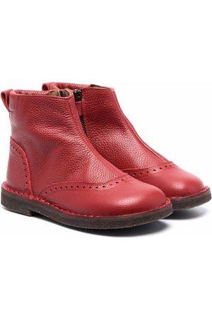 PèPè Girls Ankle Boots - Perforative decorations ankle boots