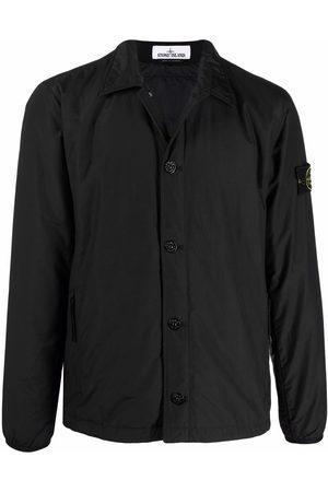 Stone Island Men Jackets - Compass-patch shirt jacket