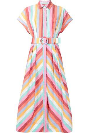 Rebecca Vallance Women Casual Dresses - Lolita short-sleeved shirt dress - Multicolour