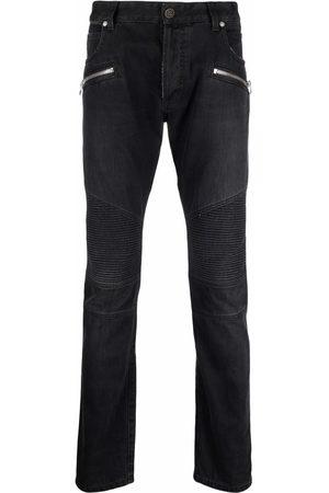 Balmain Men Skinny - Skinny-fit biker jeans