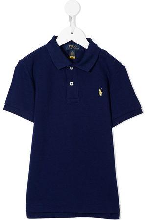 Ralph Lauren Logo-embroidered short-sleeve polo shirt