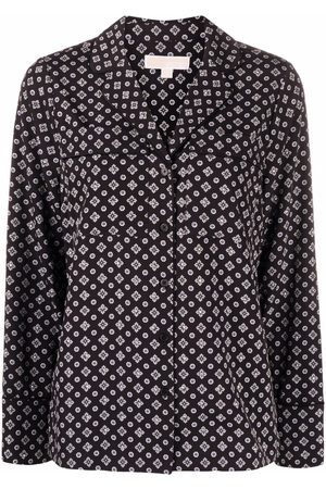 Michael Kors Women Long sleeves - Long-sleeved buttoned-up shirt