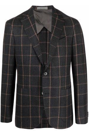 corneliani Virgin wool check jacket