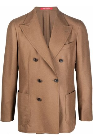 Bagnoli Fitted double-breasted blazer