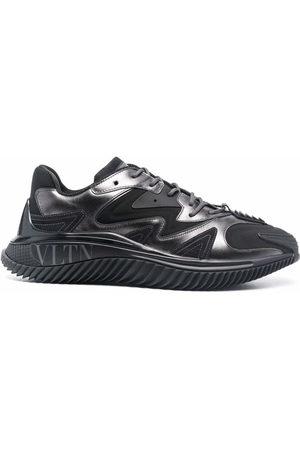 VALENTINO GARAVANI Panelled low-top sneakers