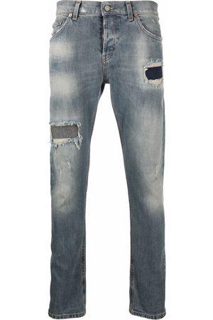 Dondup Stonewashed distress-effect jeans