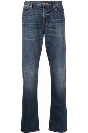 Armani Men Straight - Straight-leg mid-rise jeans