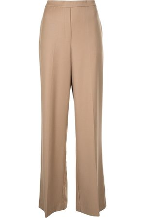 THEORY High-waisted straight leg trousers