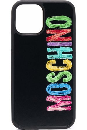 Moschino Logo-print iPhone 12/12 Pro case
