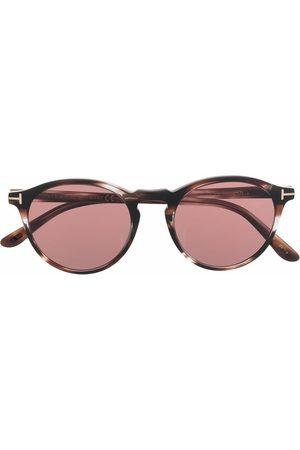 Tom Ford Men Round - Aurele round-frame sunglasses