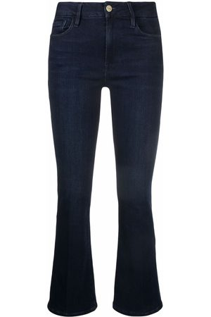 Frame Cropped flared jeans