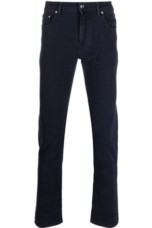 Jacob Cohen Slim-cut cotton-blend trousers