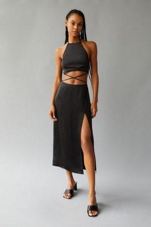 Urban Outfitters Women Midi Dresses - UO Amira Satin Midi Dress