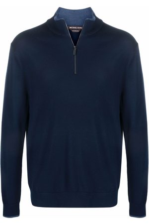 Michael Kors Knitted zip-front jumper