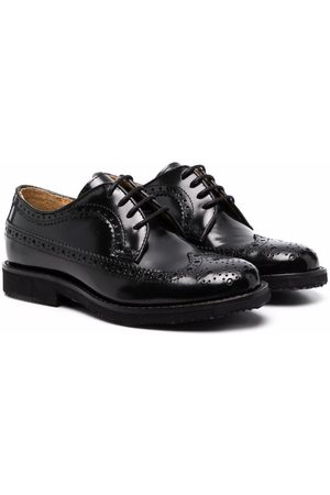 GALLUCCI Lace-up leather brogues