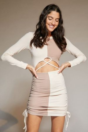 Urban Outfitters Women Party Dresses - UO Constance Check Mini Dress
