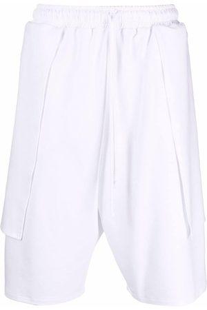 Alchemy Layered knee-length shorts